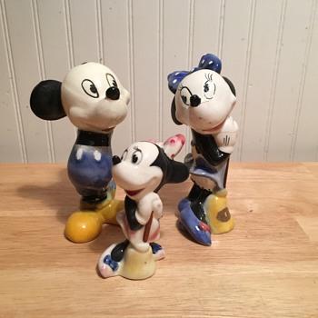 Mickey & Minnie Pottery - 1947 - Pottery