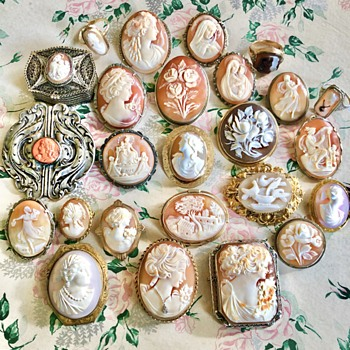 My Antique to Vintage Estate Cameo Collection - Fine Jewelry