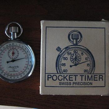 Marcel & Cie Swiss Pocket Timer - Pocket Watches