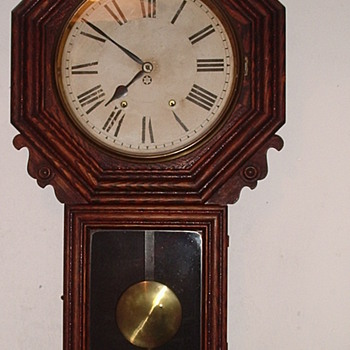 new haven clock i want to know its worth been in my family for over 100 years does work just needs to wind it up - Clocks