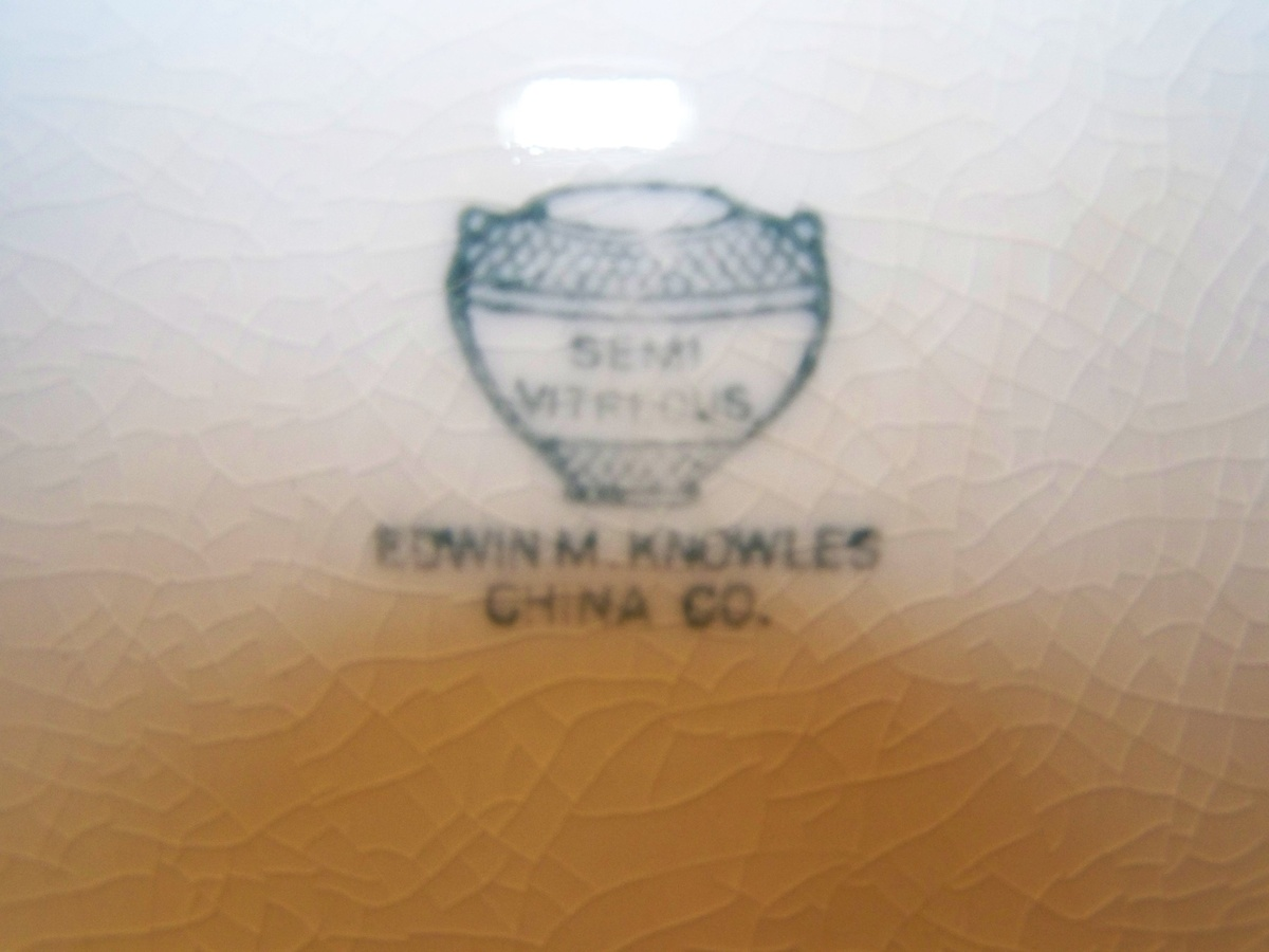 Early 1900\'s Edwin M. Knowles China | Collectors Weekly