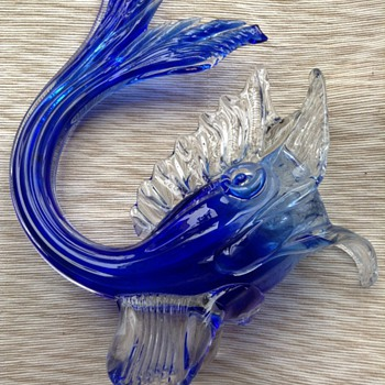 Fratelli Toso Fish - Art Glass