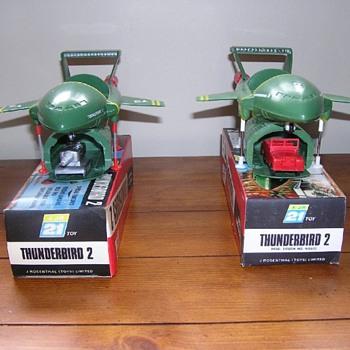 Vintage Thunderbirds Toys - Toys