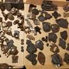 Assortment of antique trunk hardware