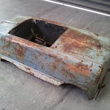 Vintage antique pedal