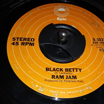 45 RPM SINGLE....#17 - Records