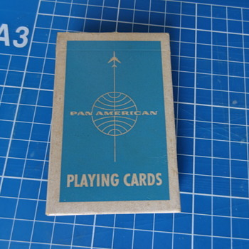 Pack of Pan Am playing cards - Cards