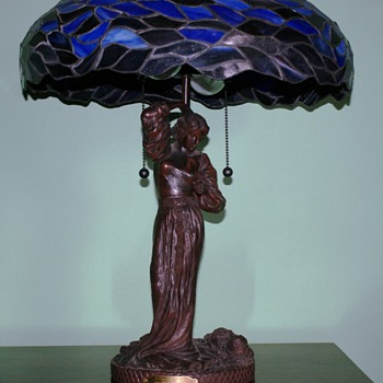 Maxfield Parrish lamp - Lamps
