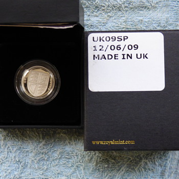 2009-the solid silver £1 proof coin with coa-royal mint. - World Coins