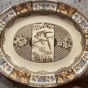 Wedgwood Platter Aesthetic Movement  - China and Dinnerware