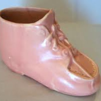 McCoy Mary Jane Shoe Planter