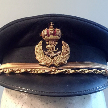 Imperial and Royal Austrian-Hungarian Navy  officer's hat - Military and Wartime