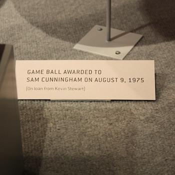 "Sam ""Bam"" Cunningham Game Presentation Ball"