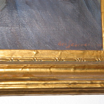 Mystery Painting - Fine Art
