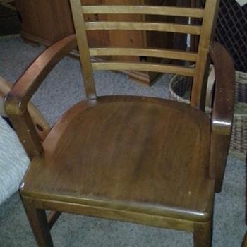 B. L. Marble Chair - Furniture