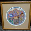 Huichol Art,  Yarn Paintings, Nayarit Mexico, Ramiro Lopez Gonzalez, 20 Century