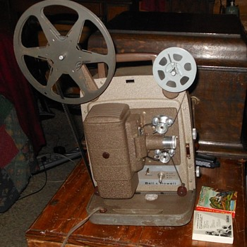Bell & Howell Model 253 AX 8mm Movie Projector