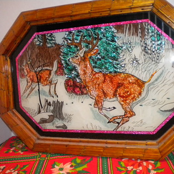 Vintage Foil and Folk Art - Folk Art
