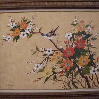 Bluebird Blossom by C.K. Tang - Asian