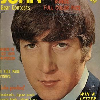 John Lennon Magazine-1964 - Music Memorabilia