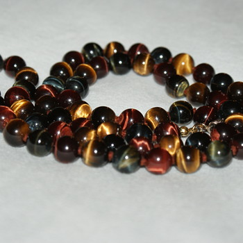 Tiger Eye Necklace - Costume Jewelry
