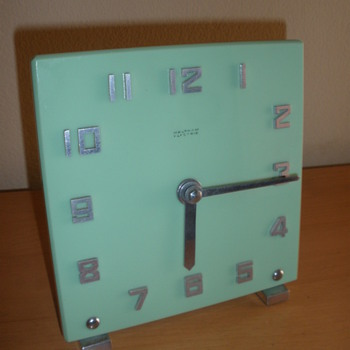 Machine Age Waltham Clock - Art Deco