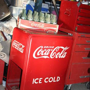 1937 Coco Cola Ice Cooler - Coca-Cola