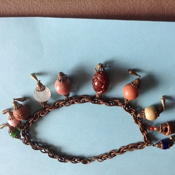 Unknown Piece Of Gass Beaded Necklace