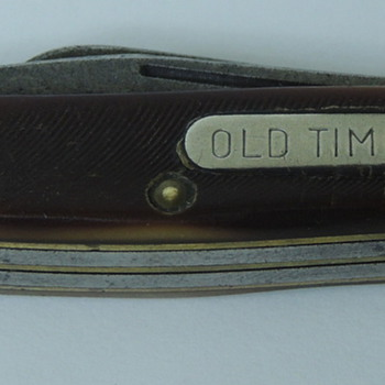 """""""Old Timer"""" Folding Knife/Schrade NY - Tools and Hardware"""