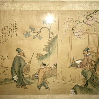 Looking for any info on this painting - Asian