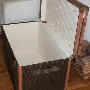 Goyard Trunks: Probably my favorites - Furniture