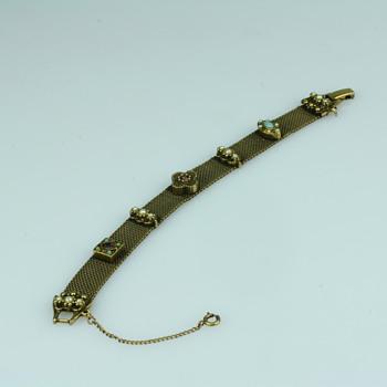 Byzantium style bracelet