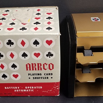 1960s Arrco Card Shuffler - number 750 - Cards