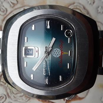 "Vintage Citizen Wristwatch ""Blackie"""