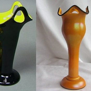 Kralik Vrs Welz #3- Shape studies - Art Glass