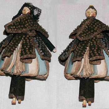 Museum Quality doll, Castle toy for a elegant evening in the candlelight - Dolls