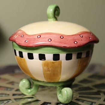 Little Covered Dish - Pottery