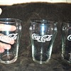 Vintage Coca-Cola Soda Fountain Glasses