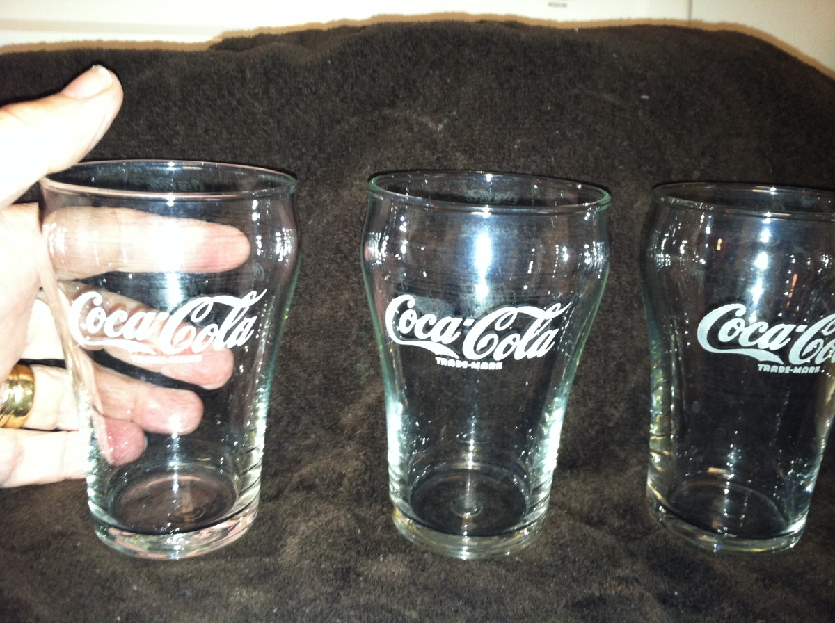 Vintage Coca Cola Soda Fountain Glasses Collectors Weekly