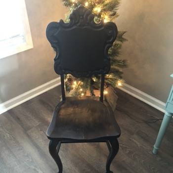 Michigan numbered accent chair - Furniture