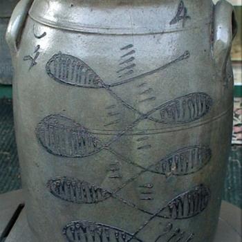 Beaver County Pennsylvania Antique Crock - Pottery