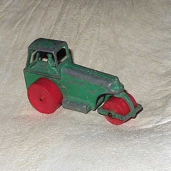 Matchbox Monday Masher Aveling Barford Road Roller MB 1 1960s - Model Cars