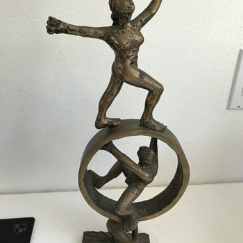 Brass sculpture - Fine Art