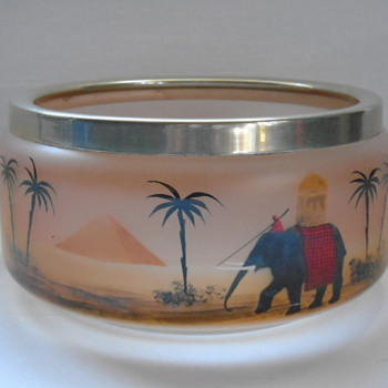 Czech Art Deco Bowl - Art Deco