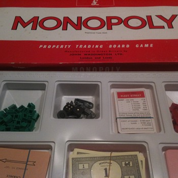 Old Monopoly Game from England - Games