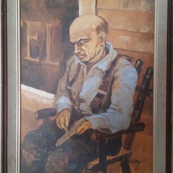 old, unknown artist - Fine Art