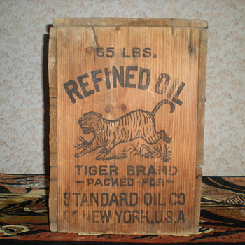 Standard oil New York. - Advertising