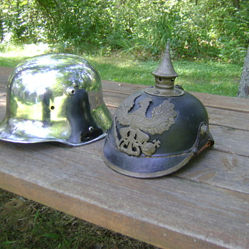 WWI German M1916 helmet. (Read discription)  - Military and Wartime