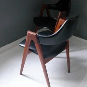 kai kristiansen flap back dining chairs - Furniture