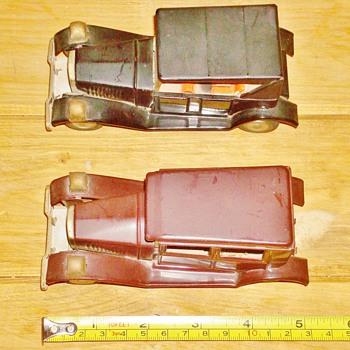 Vintage Linemar (Marx) Friction Cars - Model Cars
